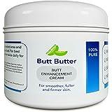 Natural Butt Enhancement Cream for Women and Men - Plump Booty Enhancer Lotion - Butt Firming and Tightening Cream…