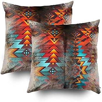 Amazon.com: emvency Throw almohada cover Southwest Native ...