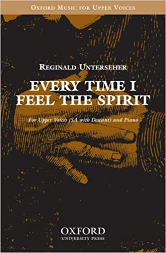 Book Every time I feel the spirit: Vocal score