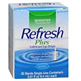 Allergan Refresh Plus Lubricant Eye Drops Single-Use Vials - MS55098 (1 Box)