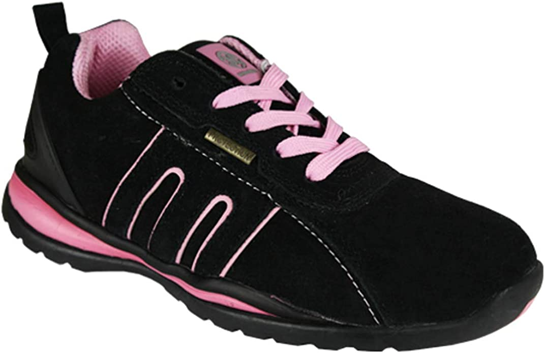 Ladies Safety Boot Steel Toe CAPS Ankle