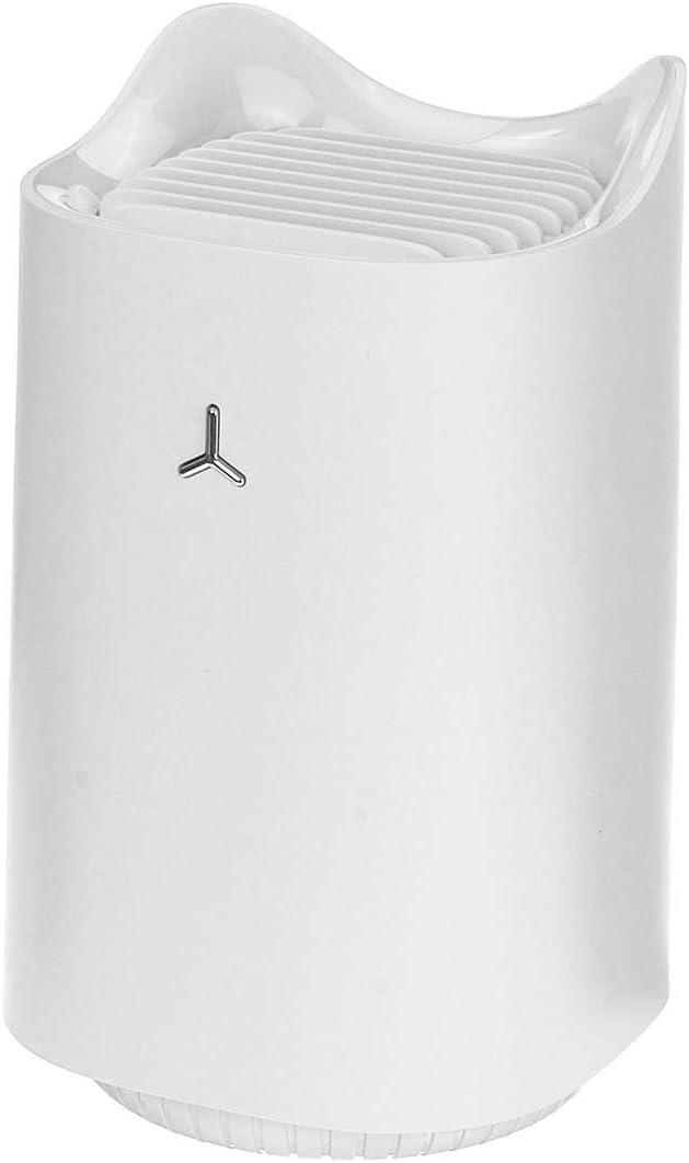 Silencio USB UV repelente de mosquitos luz no la radiación insecto asesino de la lámpara LED (Color : Blanco)