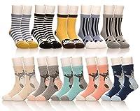 10 Pairs Kids Girls Boys Fashion Soft Cute Breathable Cotton Crew Socks kids socks size: 2-4 Years - Shoe Toddler 7 M - 10.5 M /14cm-16cm 5-8 Years - Little Kid Shoe size 10.5 M - 12.5 M /16cm-18cm 8-12 Years - Little Kid Shoe si...