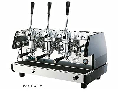 Commercial Lever Espresso Machine 3 Groups & 2 Steam Wands (Black)