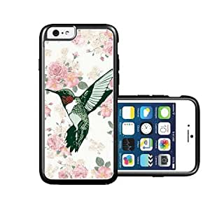 RCGrafix Brand Vintage Hummingbird Floral iPhone 6 Case - Fits NEW Apple iPhone 6