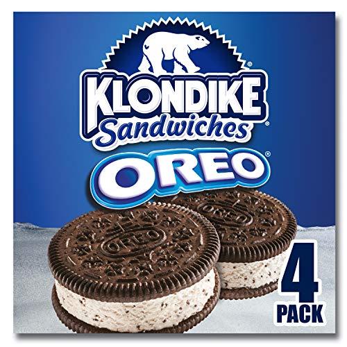 - Klondike Ice Cream Sandwiches, Oreo, 4 ct