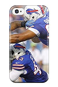 FTSpgsz5099RaxbB Tpu Case Skin Protector For Iphone 4/4s Buffaloills With Nice Appearance