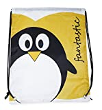 Penguin Drawstring Backpack (Yellow) Review