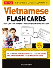 Vietnamese Flash Cards Kit: The Complete Language Learning Kit (200 Hole Punched Cards, Online Audio Recordings, 32-page Study Guide)