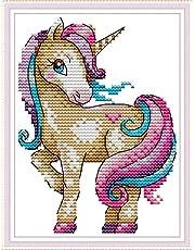 Joy Sunday Cross Stitch Kits Classical Scenery Style Cross-Stitch Embroidery Sets