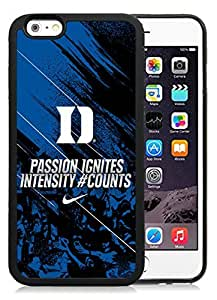 Customized Iphone 5s Case with NCAA Atlantic Coast Conference ACC Footballl Duke Blue Devils 5 Protective Cell Phone TPU Cover Case for Iphone 5s Generation 4.7 Inch Black