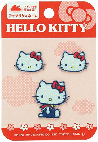 Pioneer <Sanrio> Iron adhesive applique SX84 Hello Kitty