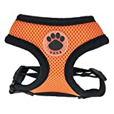 EBRICKON Adjustable Soft Breathable Harness Dog Cat Control Nylon Mesh Vest Armor Pet Puppy Soft Breastband