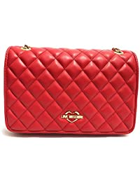 b46d6b99861 ... Shoes   Jewelry   Love Moschino. Womens Quilted Crossbody Chain Strap