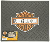 "PlastiColor 001002R01 Harley-Davidson Logo 14"" x 16.25"" Utility Mat"