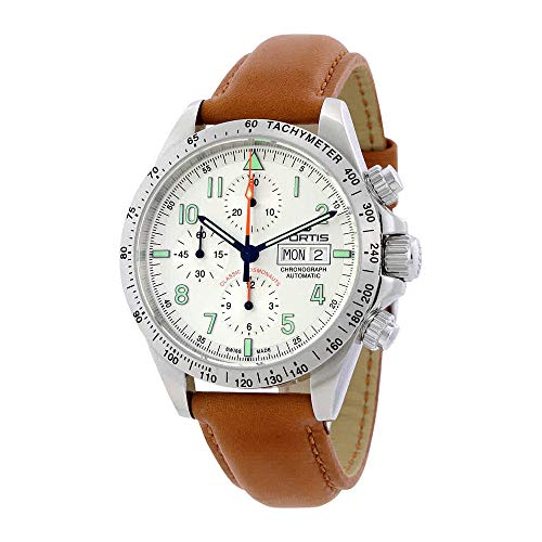 Fortis Classic Cosmonauts Chronograph Automatic Mens Watch 401.21.12 L.28