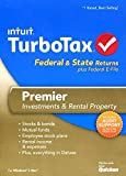 TurboTax Premier Federal E-File State 2013 [CD-ROM] Windows Vista / Windows 7 / Mac OS X 10.6 Snow Leopard / Mac OS X 10.7 Lion / Windows 8 / Mac OS X 10.8 Mountain Lion / Windows XP