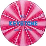 Latitude 64 Retro Burst Keystone | Disc Golf Putter | Frisbee Golf Putt and Approach Disc | 170g Plus | Stamp