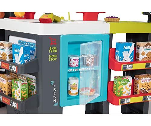 Smoby- Maximarket Supermercado Juguete, Color Rojo, Verde y Azul ...
