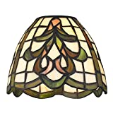 Dome Tiffany Glass Shade - 1-5 8-inch fitter