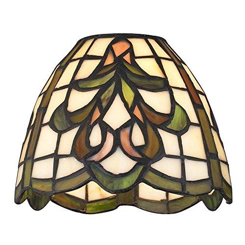 Dome Tiffany Glass Shade - 1-5/8-inch - Shades Tiffany