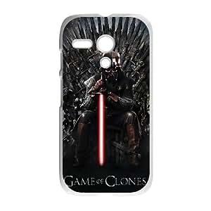 Motorola G Cell Phone Case White Star Wars 005 Delicate gift AVS_629199