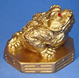Three Legged Toad Money Frog Chan Chu Symbol of Prosperity in Feng Shui