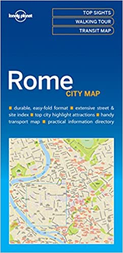 Lonely Planet Rome City Map 1st Ed.: Lonely Planet: 9781786577801 ...