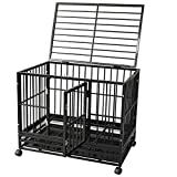Best Heavy Duty Dog Crates - DodreHome Heavy Duty Dog Cage Crate for Large Review