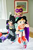Animal Adventure Batman Plush DC Comics Justice League, Grey/Black/Gold, Original-21''