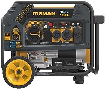 Firman H03651 4550W Watt Dual Fuel (Hybrid) Portable Generator