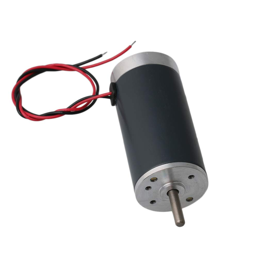 Yibuy CW//CCW DC 12V Brushed Electric Motor 6000RPM 64W for Auto Door Lock