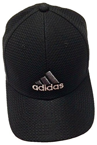 11171fcc Adidas Men's Stretch Cap, Black/Gray/ White, L/G | Hat Outlet Sale