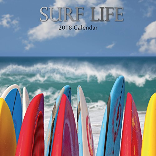 2019 Surf Life Calendar - 12 x 12 Wall Calendar - With 210 Calendar Stickers supplier