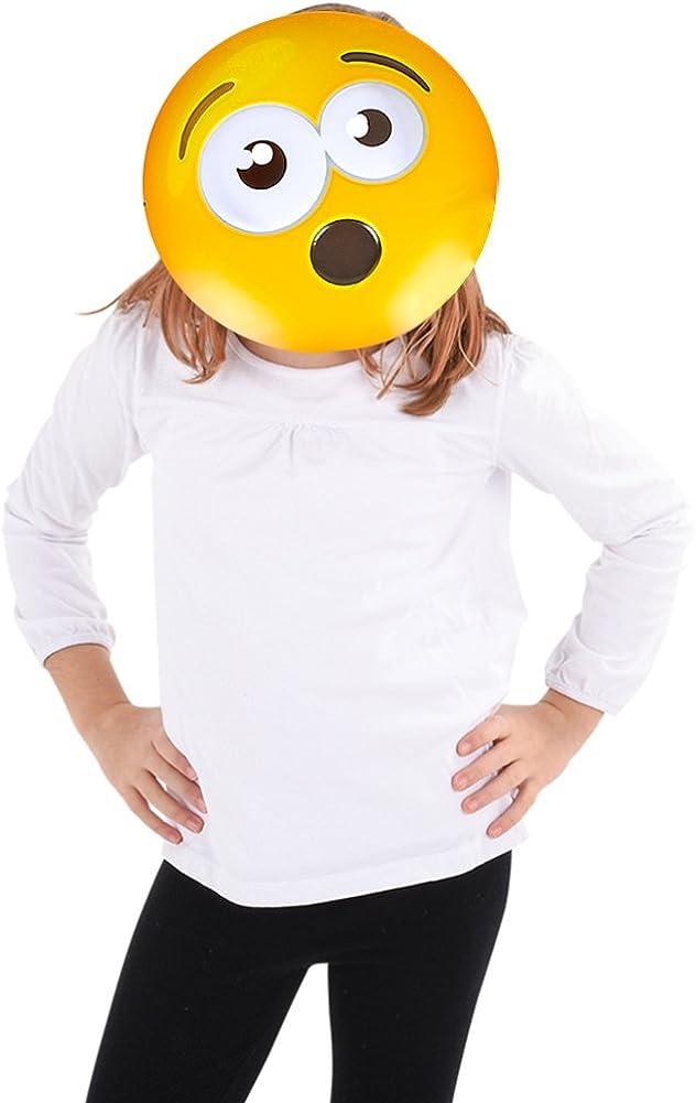 Sunglasses Emoticon Yellow Texting Emoji Face Adult Halloween Mask NEW