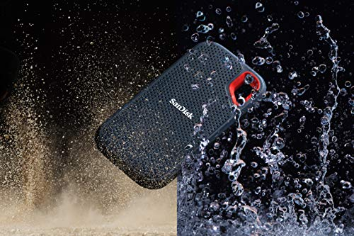 SanDisk 2TB Extreme Portable External SSD  Up to 550MBs  USBC USB 31  SDSSDE602T00G25