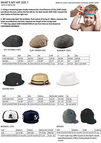 5b430fbd897 Born to Love Baby Boy Infant Trucker Hat Snap Back Sun Hat - Skull - S (48  cm 12-24 months)
