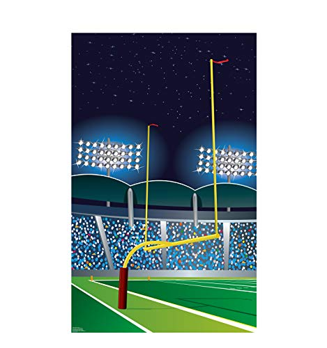 Advanced Graphics Football Goal Post Life Size Cardboard -