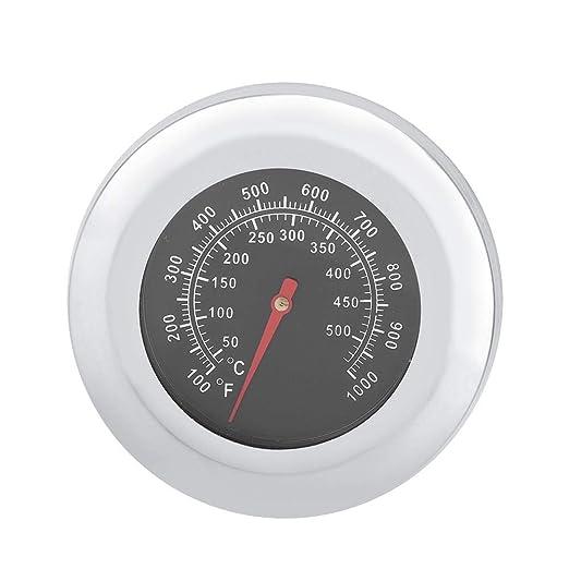 Termómetro de acero inoxidable para horno, cocina, horneado ...