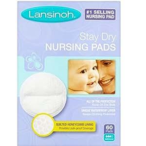 Lansinoh Disposable Nursing Pads - 60 ct (Pack of 2)