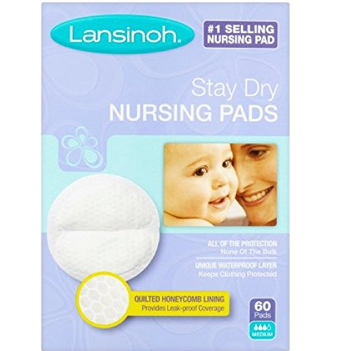 Lansinoh Nursing Pads Stay Dry 60 Each ( Pack of 10 ) by Lansinoh
