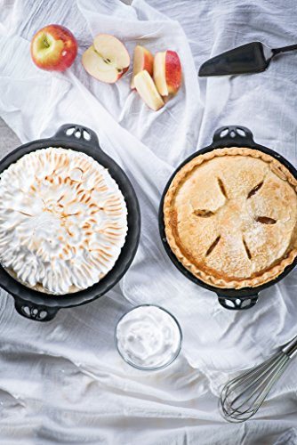 Camp Chef True Seasoned Cast Iron Pie Pan 10'' CIPIE10 by Camp Chef (Image #4)