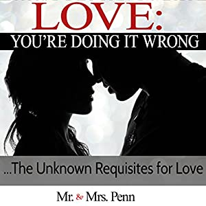 Love: You're Doing It Wrong Audiobook