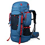 Mountaintop 55L Hiking Backpack Trekking Bag Backpacking Pack with YKK Zipper-6108