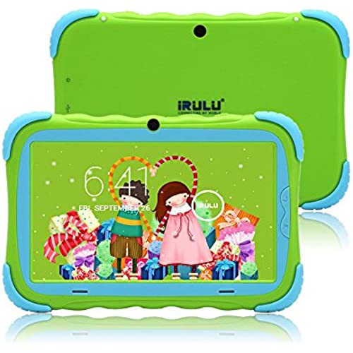 8GB 7 iRulu BabyPad Y1pro Green Dual Core&Cam Android4.2 Kids Tablet(Green) Coupons