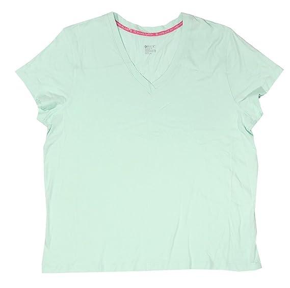 0c989afcfac4 HUE Sleepwear Women s Short Sleeve V-Neck Sleep Tee at Amazon Women s  Clothing store