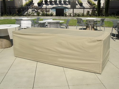 CoverMates   Modular Sectional Sofa Cover   104W X 38D X 30H   Elite  Collection   3 YR Warranty   Year Around Protection   Khaki