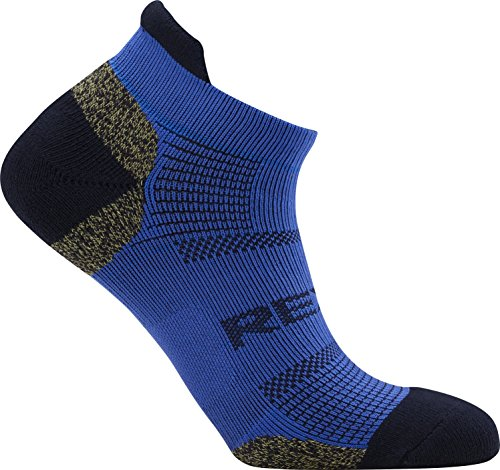 REXY S7MG-07 Functional Blance Men's Ankle Athletic Socks For Golf Sports Outdoor (blue)