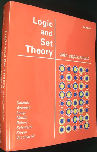 Logic And Set Theory With Applications 9780916060077 Slugbooks