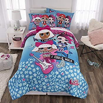 Amazon.com: Shopkins Kids 5 Piece Bed in a Bag Full Size ...